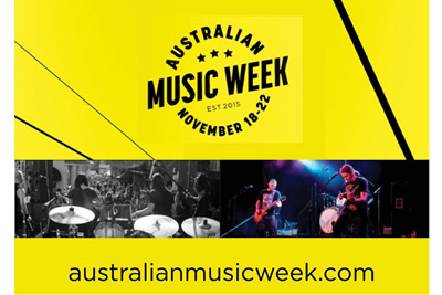 Australian Music Week, Sydney November 2015