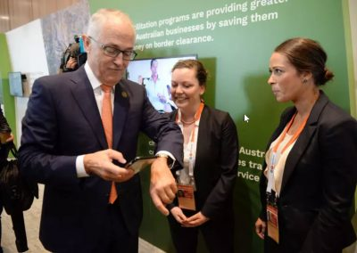 PM Turnbull meeting SME delegates