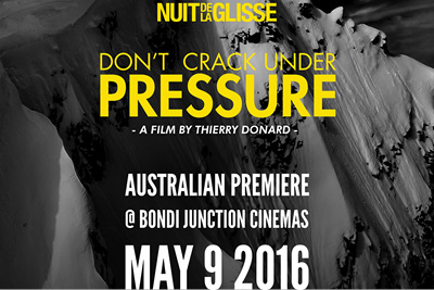 Don't Crack Under Pressure Film Premiere - Sydney, May