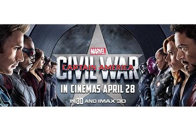 Disney Activation - Captain America - Sydney, April