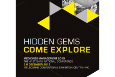 Medicines Management 2015 – Melbourne, November