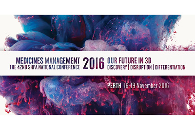 Medicines Management 2016 - Perth, November