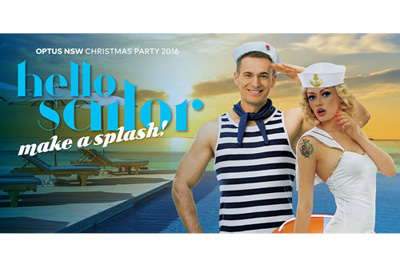 Optus Christmas Party - Sydney, December