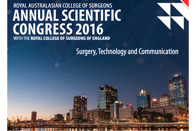 RACS ASM 2016 - Brisbane, May