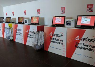 Self-Registration Kiosks