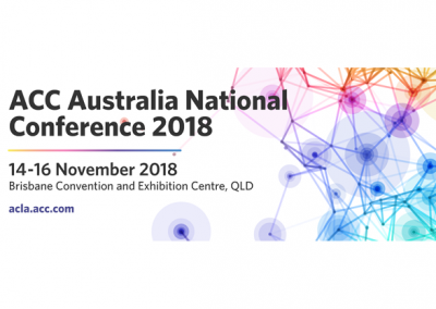 ACC Australia National Conference 2018